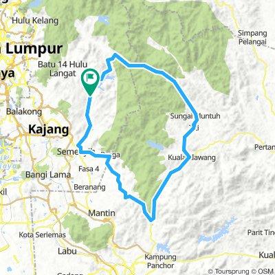Kajang-Home | Bikemap - Your bike routes