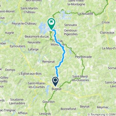 Etape 05 - Bugeat à Broussas - 28,4km 340D+