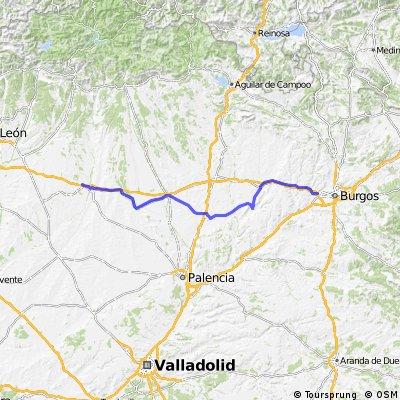Camino de Santiago 2004 - fourth leg Burgos - Calzada de Coto