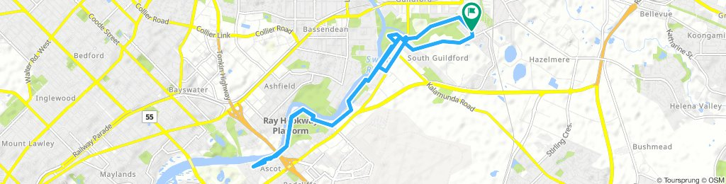Moderate route in South Guildford