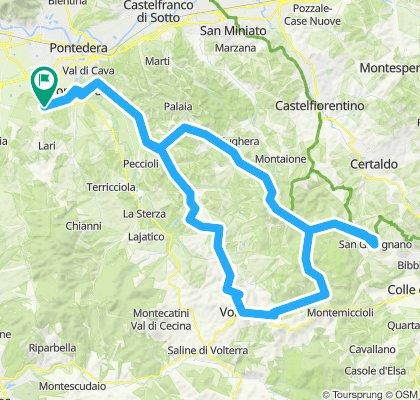 Volterra San Gimignano
