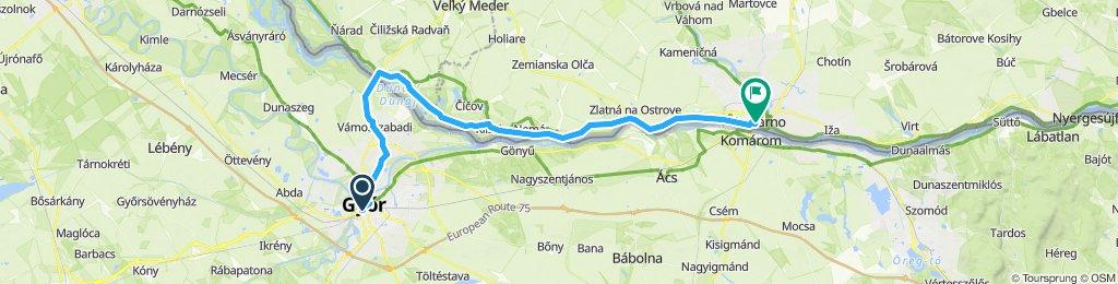Komárom - Duna mentén