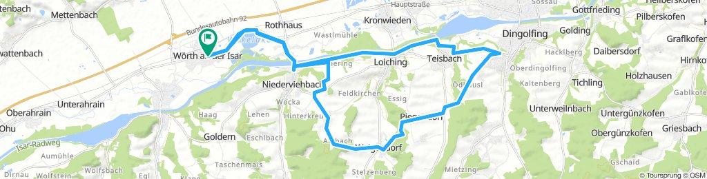 Wörth-Teisbach-Heimlichleiden-Weigendorf-Schlott-Wörth