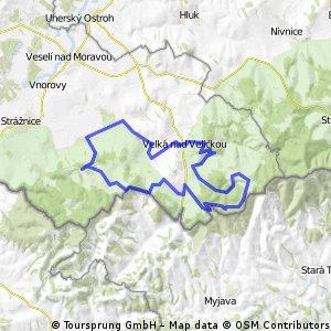 Lučina - Kubíkův vrch - Velká - Lučina