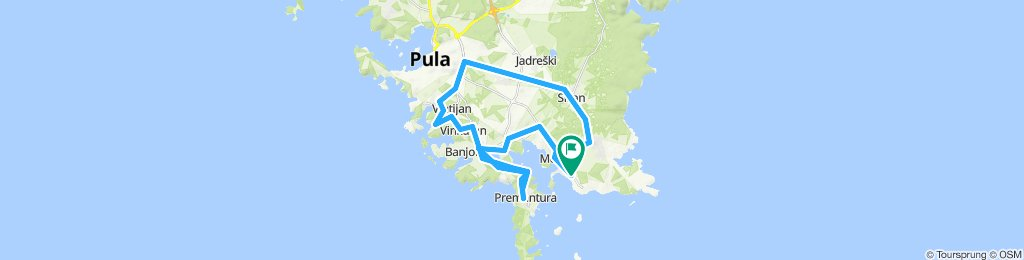 60km / 2.5h / Bergintervalle