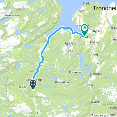 Løkken - Buvika 5,2 mil