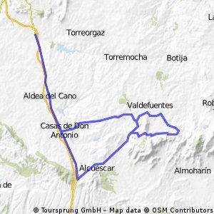 XIII Gran premio de Valdesalor. Campeonato de Extremadura 2010