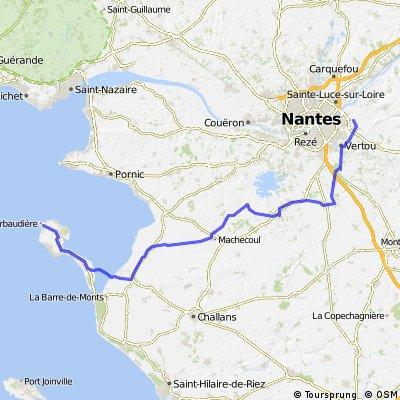 8e etape Noirmoutiers Nantes