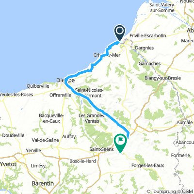 4/21 Mers-Les-Bains to Bradiancourt