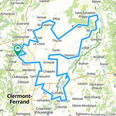 Ronde de la Limagne D/A Châtel