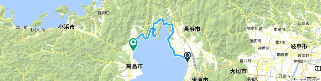 ビワイチ2(長浜-水上機飛行場-今津)