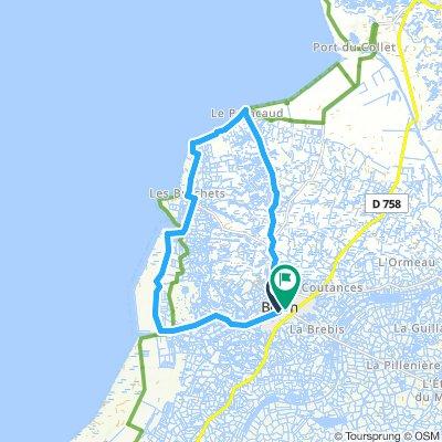 Bretagne en vélo Jour 1