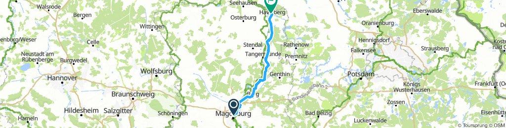ELBE 007: Magdeburg - Havelberg