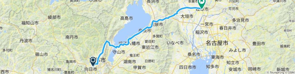Length of Japan part1 Kyoto to Gifu