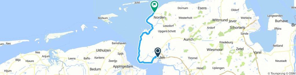 Emden_HBF - Norddeich_HBF