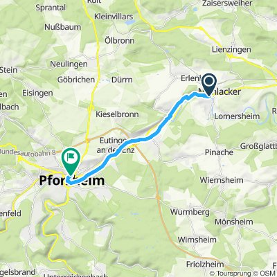 Mühlacker-PF Enztalradweg