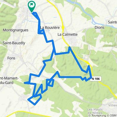 vttae 45km Clos Gaillard