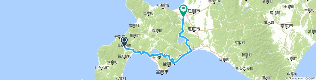 Length of Japan part 3 Kuromatsunai to Sapporo