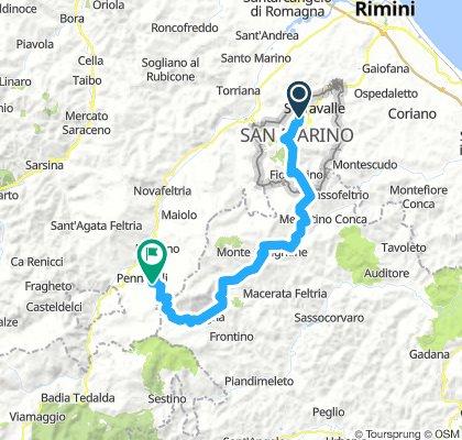 San Marino - Pennabilli