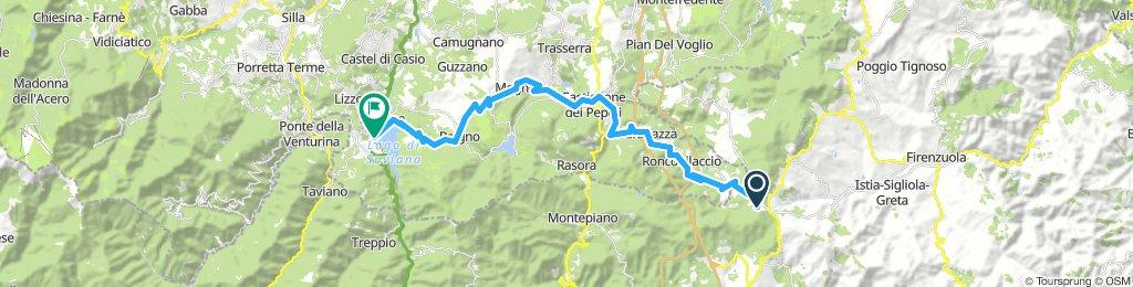 Passo Futa - Lago di Suviana
