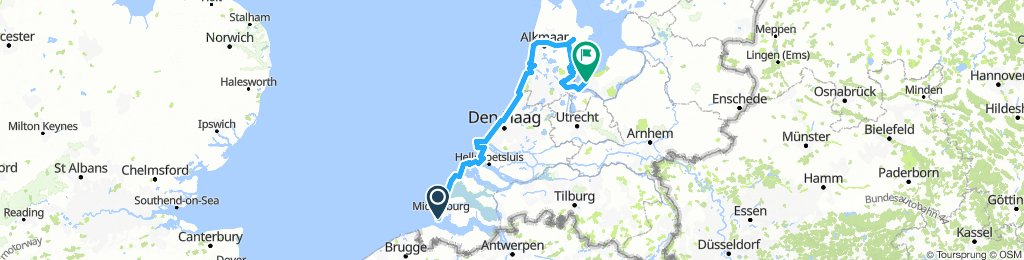 Zeeland - Holland - Flevoland 2018