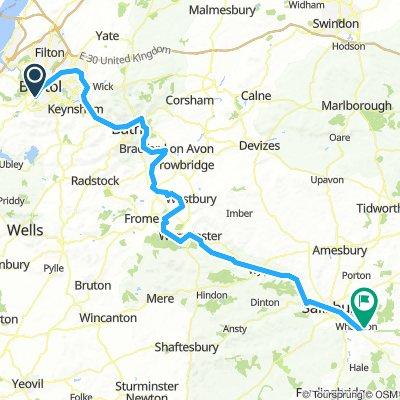 Bristol to Salisbury