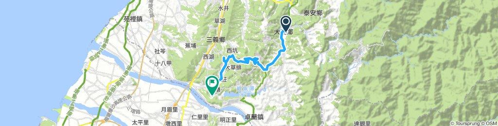 苗栗新中横Day2:大湖國小-鯉魚潭水庫