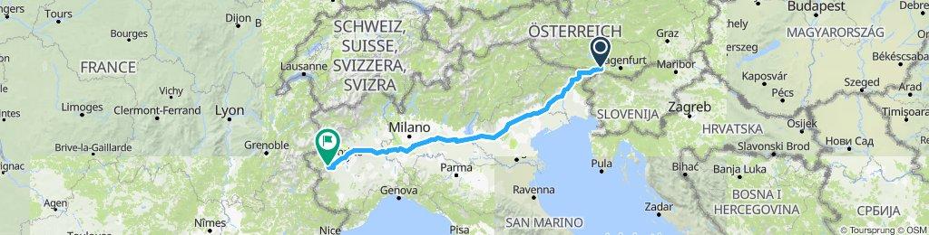 Villach - Inverso Pinasca