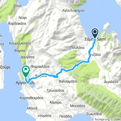 Cycling Routes And Bike Maps In And Around Sami Bikemap Your