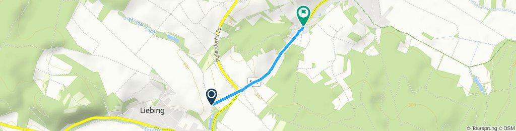 Gemütliche Route in Mannersdorf an der Rabnitz