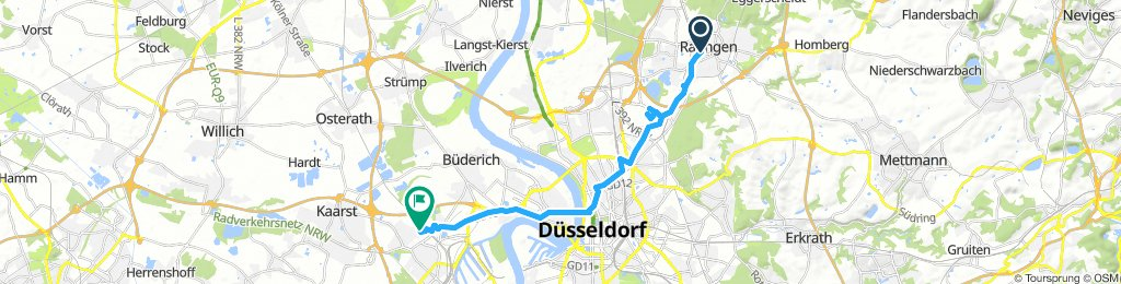 Moderate Route in Neuss