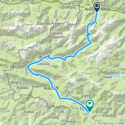 #Slowenien #2b: Kranjska Gora - Tolmin