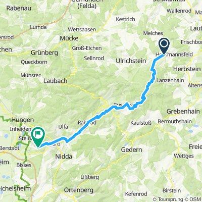 Hörgenau bis Ober Widdersheim