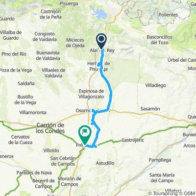Canal de Castilla 1: Alar del Rey-Frómista