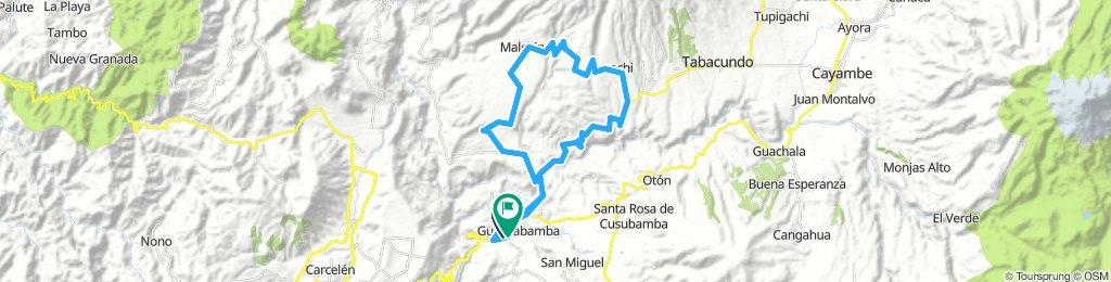 "Paseo Tatoo-Produbanco ""Vuelta al Malchinguí 60K"""