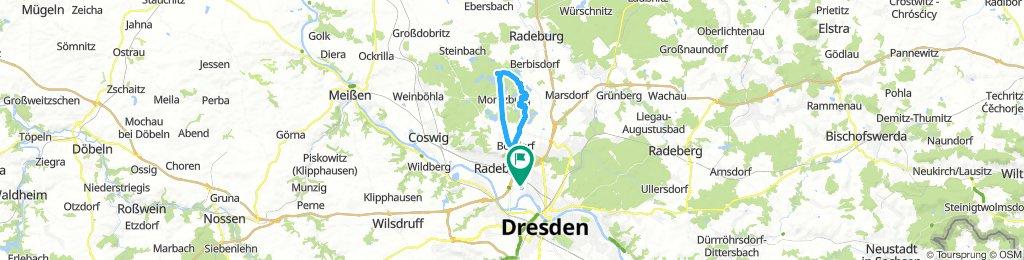 Moritzburg Tour mit Pause am Seeblick