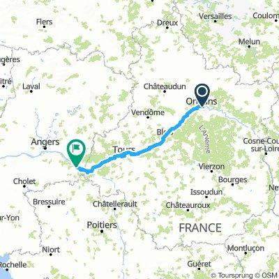 Orleans - Saumur