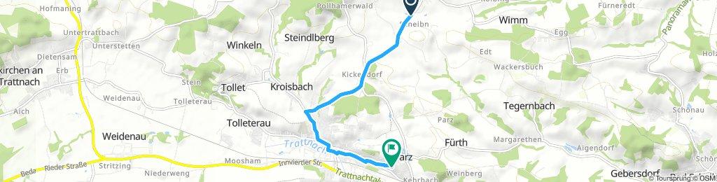 Gemütliche Route in Grieskirchen
