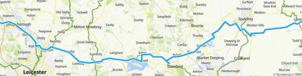 Diseworth to Sutton  Bridge