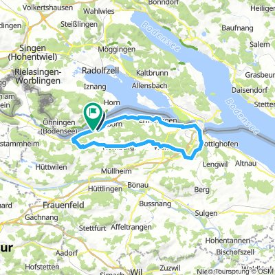 Steckborn Kreuzlingen Seerücken Mammern