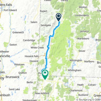 manchester to williamstown