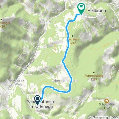 Weizer Almenland Radtour - Anbindungsroute
