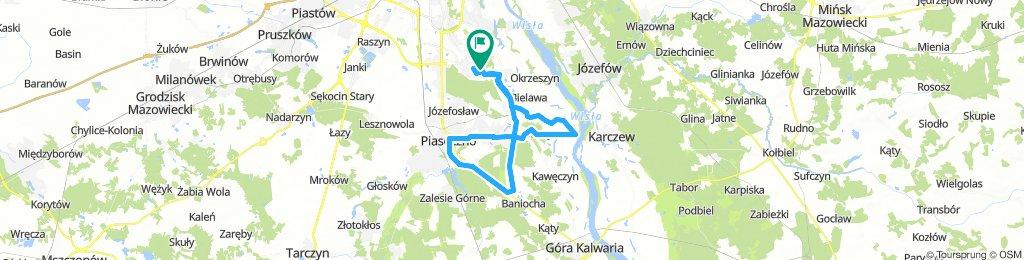 Kabaty - Konstancin - Piaseczno - Gassy - Kabaty