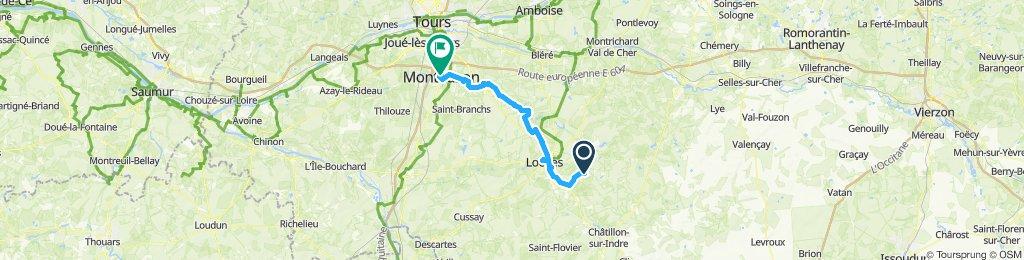Sennevieres - Montbazon