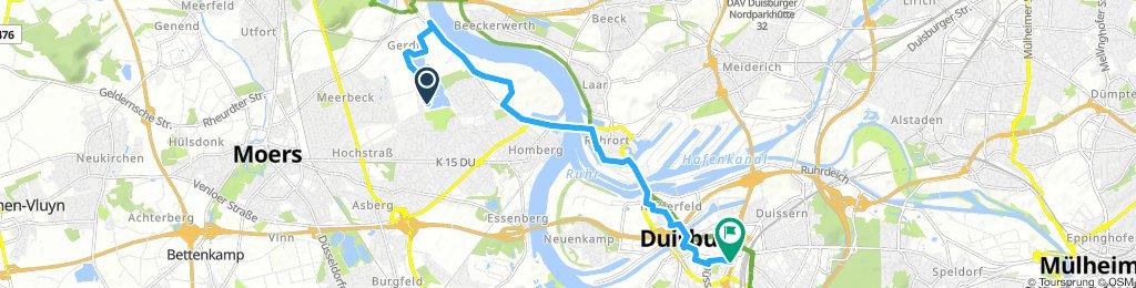 Uettelsheimer See -> Duisburg Hbf