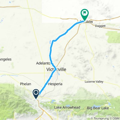 day 3 of ride to Barstow