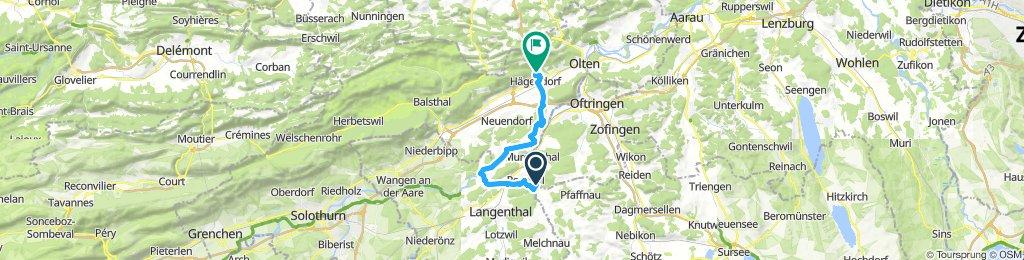 St. Urban, Aarwangen, Hägendorf