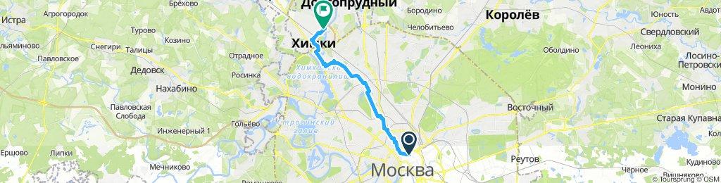 Steady ride in Khimki