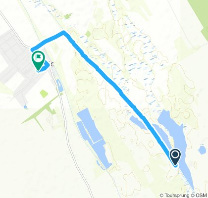 Snail-like route in Tác
