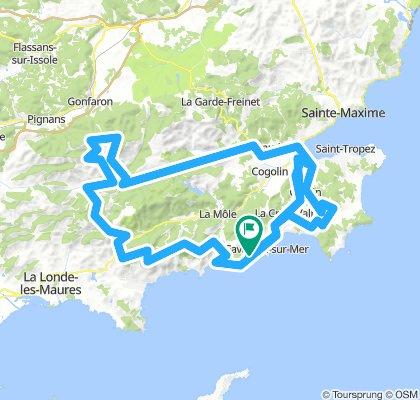 """Rando Presqu'île de St-Tropez"" - 20 Avril 19."
